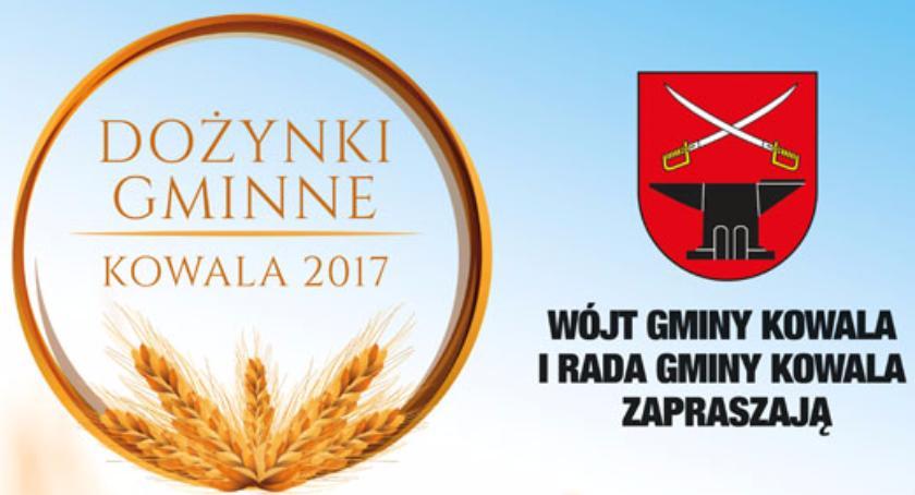 Kultura, Gmina Kowala zaprasza Dożynki - zdjęcie, fotografia