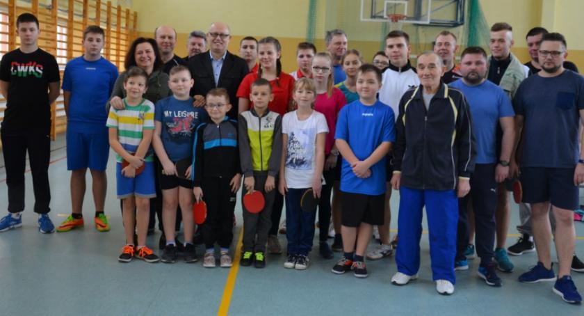 Sport, Gminny Turniej Tenisa Stołowego [FOTO] - zdjęcie, fotografia
