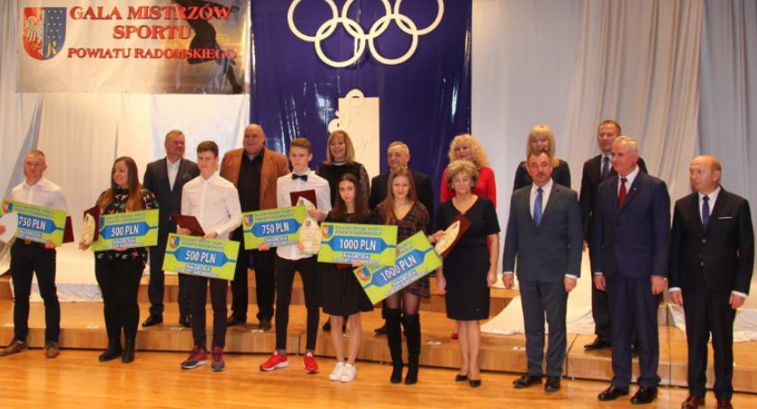 Sport, Sportowcy naszej gminy wyróżnieni Mistrzów Sportu Powiatu Radomskiego [FOTO] - zdjęcie, fotografia