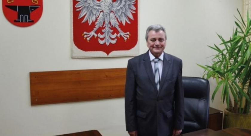 Urząd Gminy, Rozmowa Wójtem Gminy Kowala Tadeuszem Osińskim - zdjęcie, fotografia