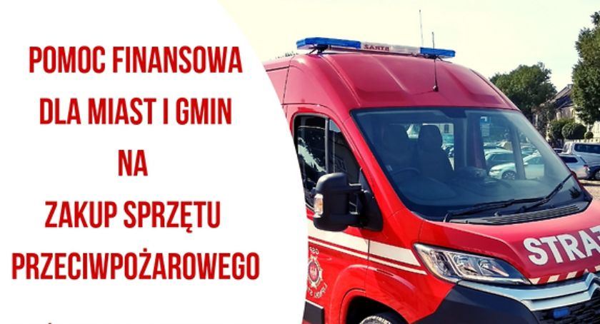 Aktualności, Mazowsze wspiera strażaków - zdjęcie, fotografia