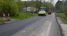 Remont drogi wojewódzkiej w Józefowie