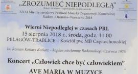 Bohaterskie historie, które miały wpływ na losy Polski i świata. Koncert w Trablicach