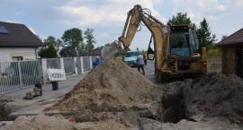 Rozbudowa sieci wodociągowej w Trablicach [FOTO]