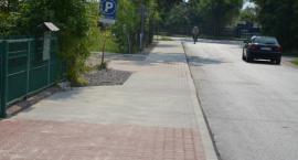 Przebudowa drogi gminnej nr 350620W, tj. chodnika do PSP w Młodocinie Mniejszym [FOTO]