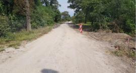 Budowa ciągu pieszo-jezdnego w miejscowości Kowalówka [FOTO]