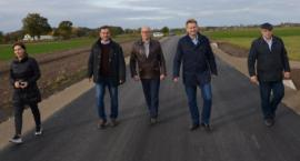 Zakończono budowę drogi gminnej Osiek-Grabina Etap I [FOTO]