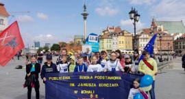 Klub Europejski z PSP w Kowali na Paradzie Schumana w Warszawie [FOTO]