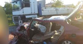 Wypadek w Parznicach w gminie Kowala