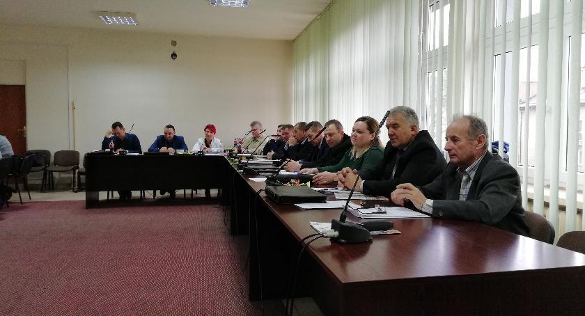 Rada Gminy, XLIII sesja Gminy Wierzbica - zdjęcie, fotografia