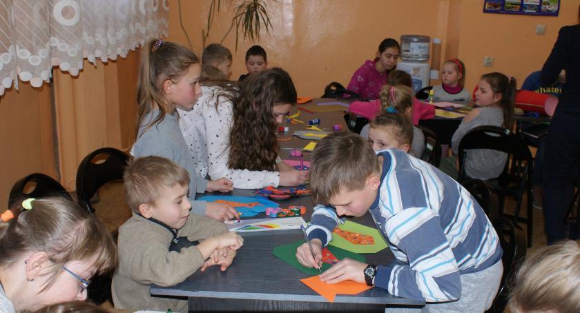 Edukacja, Ferie zimowe Gminnym Ośrodku Kultury Wierzbicy [FOTO] - zdjęcie, fotografia