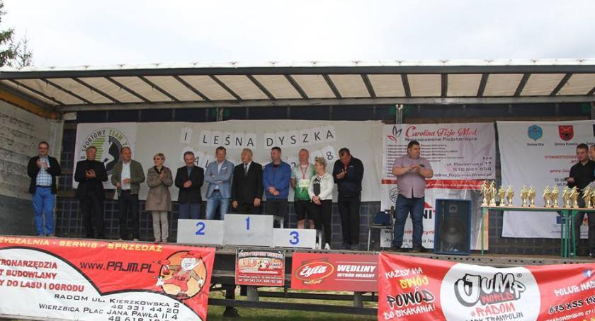 Sport - Inne, Leśna Dyszka Zalesice [FOTO] - zdjęcie, fotografia