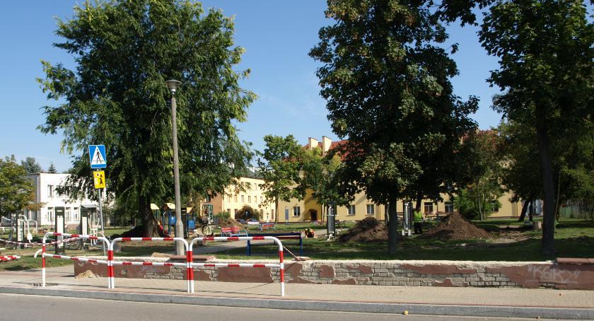 Inwestycje, Rewitalizacja parku Wierzbicy - zdjęcie, fotografia