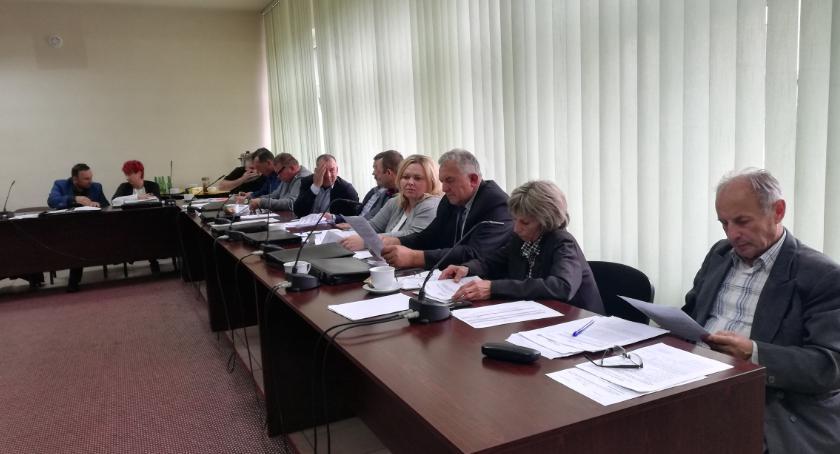 Rada Gminy, Sesja Gminy Wierzbicy - zdjęcie, fotografia