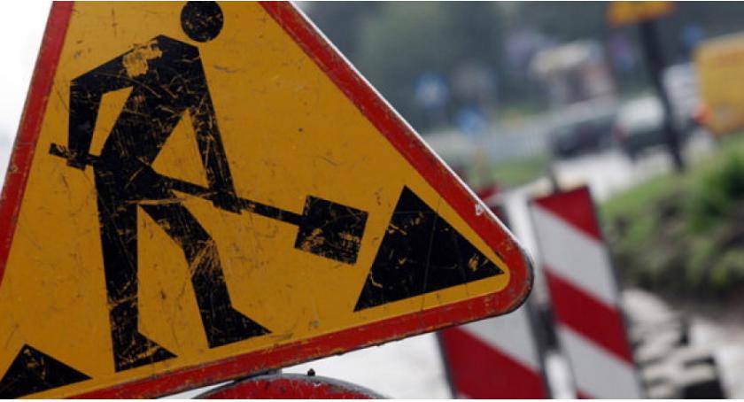 Aktualności, Wyłączenia ruchu drogowego drogi miejscowości Rzeczków - zdjęcie, fotografia