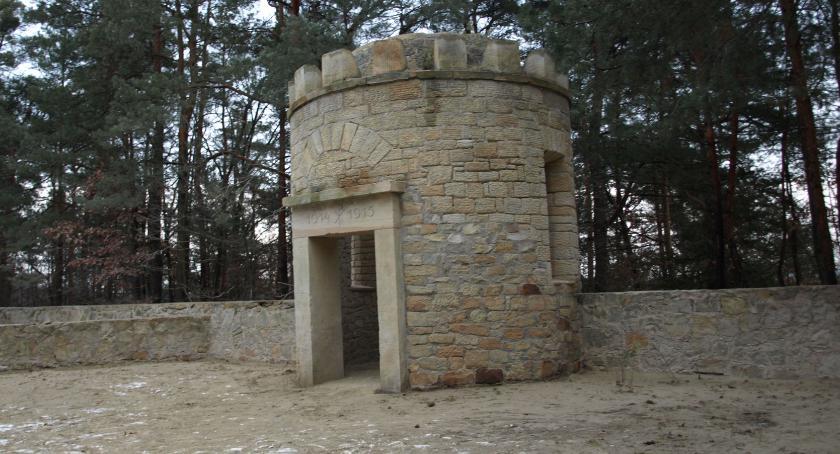 Inwestycje, Koniec remontowych cmentarzu Rudzie Wielkiej [FOTO] - zdjęcie, fotografia