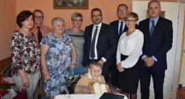 100-urodziny mieszkanki Wierzbicy [FOTO]