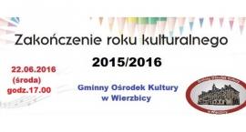 Zakończenie Roku Kulturalnego w GOK