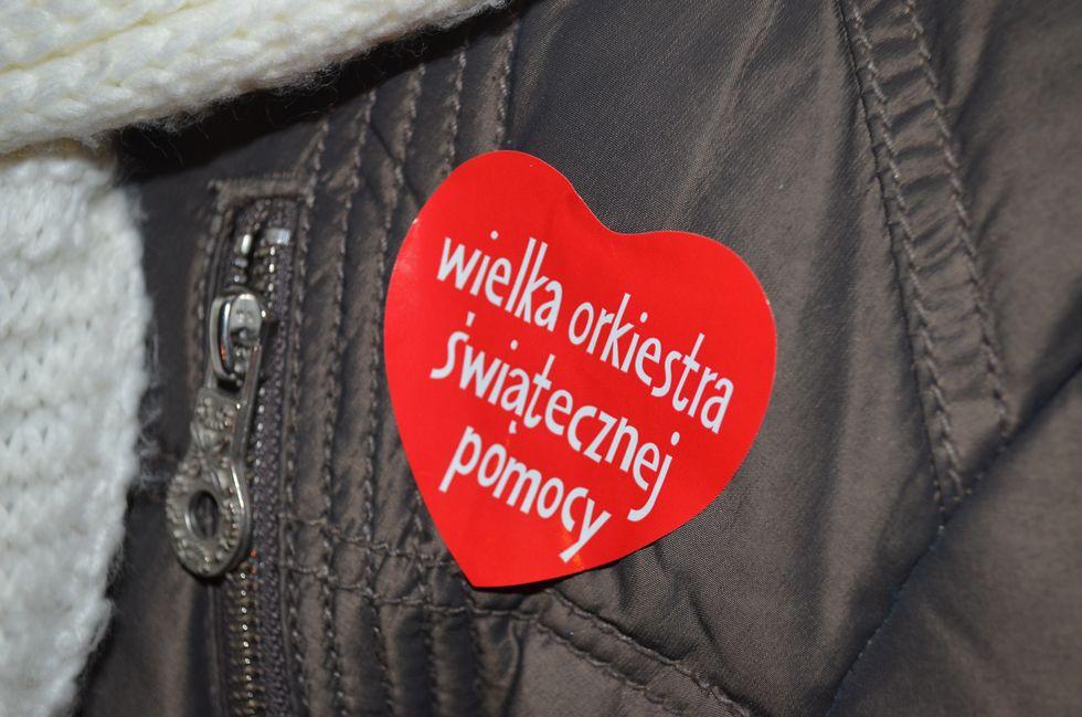 Organizacje pozarządowe - NGO, Rekordowa zbiórka WOŚP Gorzowie - zdjęcie, fotografia