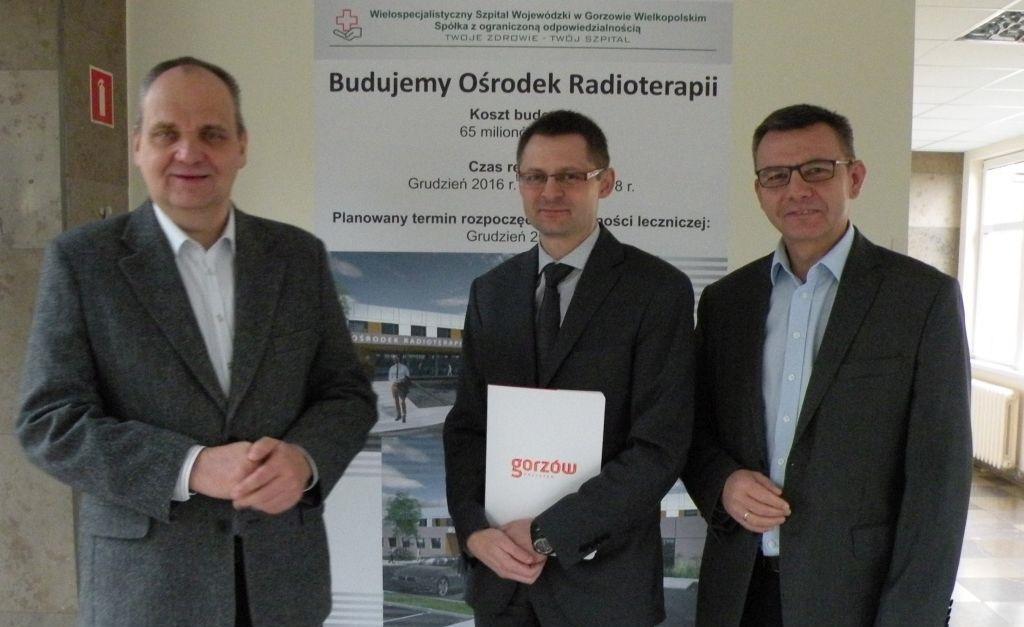 Inwestycje infrastruktura, pozwolenie budowę Ośrodka Radioterapii - zdjęcie, fotografia