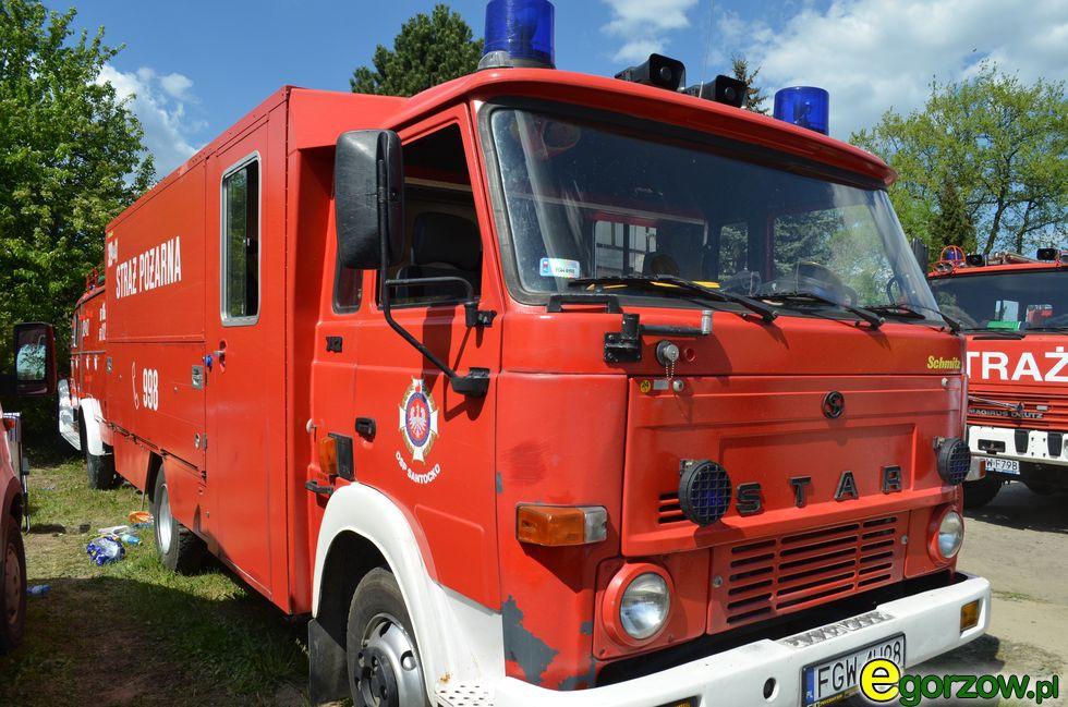 Pożary interwencje straży , Pożar kamienicy Jagiellończyka - zdjęcie, fotografia