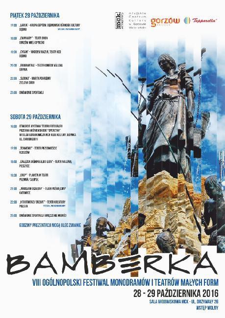Wystawy , edycji Ogólnopolskiego Festiwalu Monodramów Teatrów Małych Bamberka - zdjęcie, fotografia