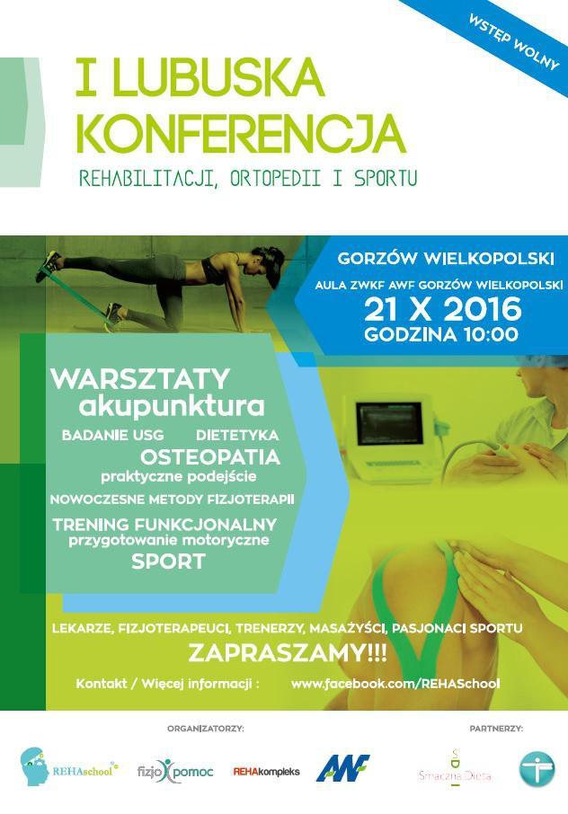 Szpitale - Zdrowie , Lubuska Konferencja Rehabilitacji Ortopedii Sportu - zdjęcie, fotografia
