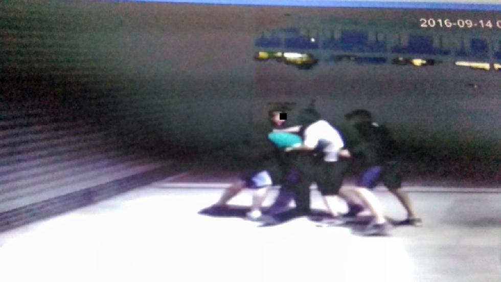 Komunikaty policji, Policjanci kryminalni Gorzowa zatrzymali osoby podejrzewane pobicie - zdjęcie, fotografia