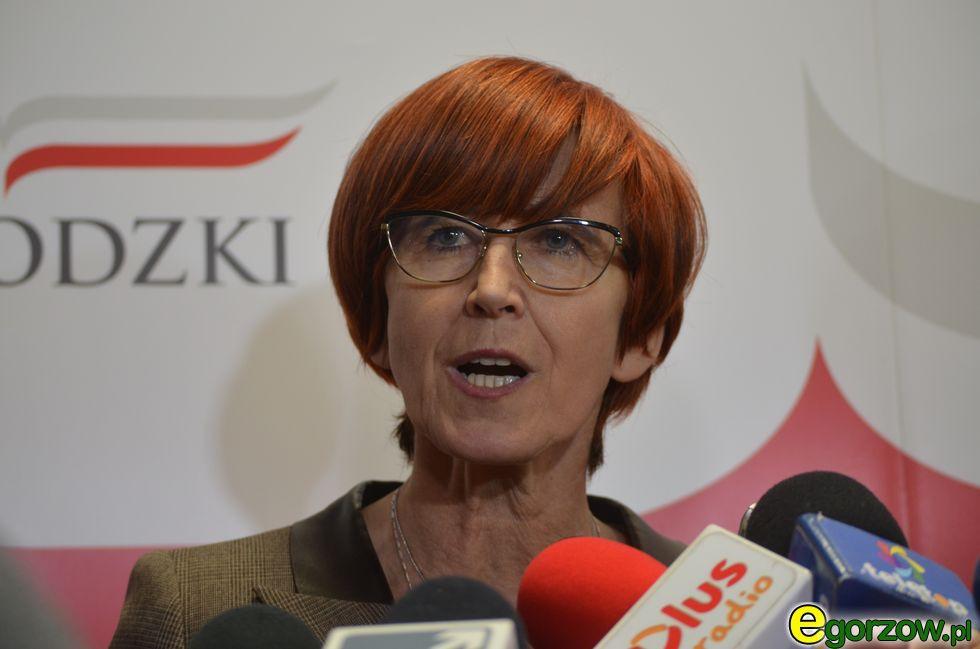 Ministerstwa RP, Elżbieta Rafalska Lubuskim Urzędzie Wojewódzkim - zdjęcie, fotografia
