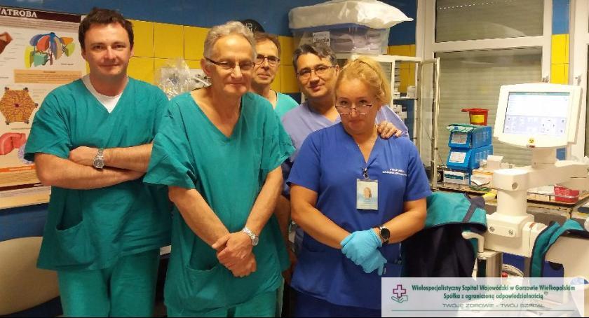 Prekursor endoskopowego usuwania nowotworów w gorzowskim szpitalu
