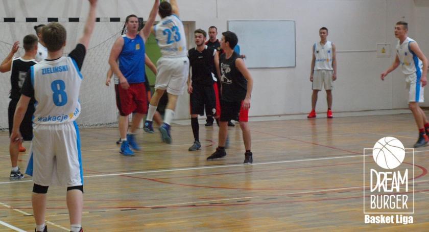 1. kolejka Dream Burger Basket Ligi 15.10.2017r., godz. 17:15