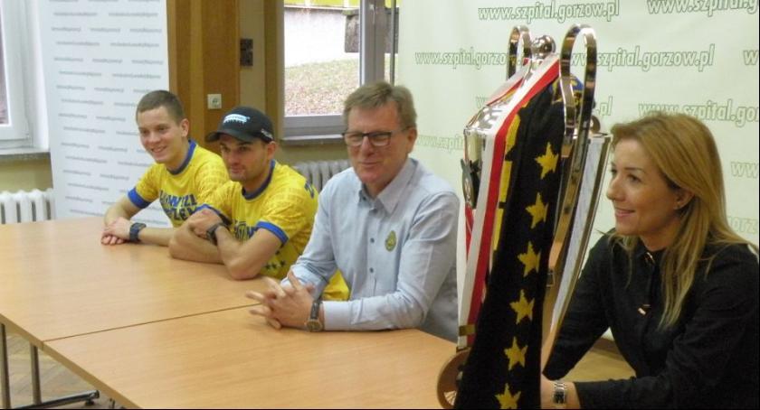 Spotkanie z zawodnikami Stali Gorzów