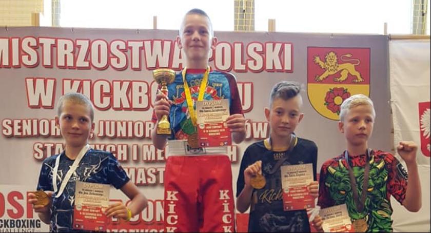 3 medale KSW Gorzów na Mistrzostwach Polski w Kickboxingu