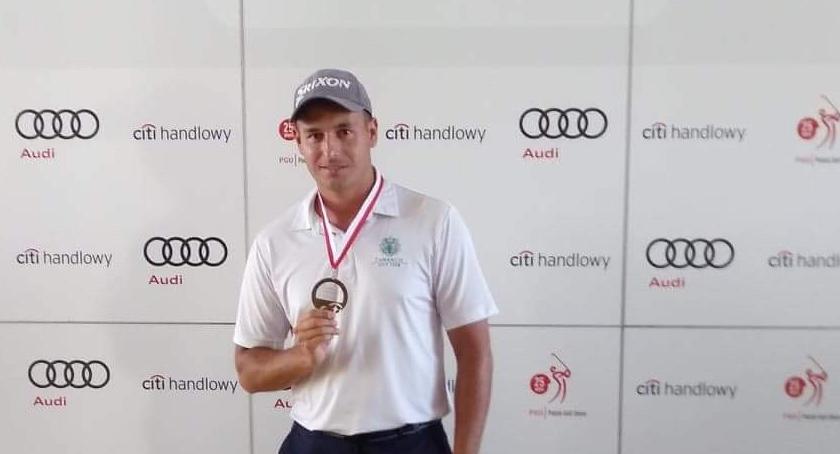 Rekreacja sportowa, gorzowian golfie medale złoty - zdjęcie, fotografia