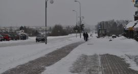 Utrudnienia na drogach. Atak zimy w Gorzowie