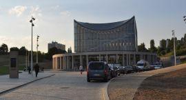 Wraki w parkingu podziemnym Filharmonii Gorzowskiej