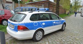 Policyjna akcja na ul. Kosynierów Gdyńskich w Gorzowie