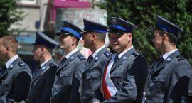 Policjanci na inauguracji sezonu motocyklowego