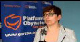 Ktoś niszczy plakaty Krystyny Sibińskiej, kandydatki na urząd prezydenta Gorzowa