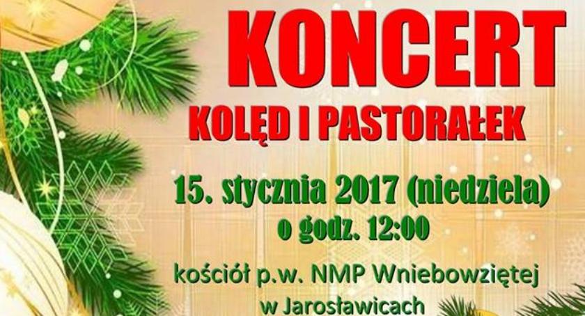 koncerty , Koncert Kolęd Pastorałek Jarosławicach - zdjęcie, fotografia