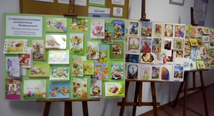 Wystawy , Wystawa kartek świątecznych - zdjęcie, fotografia