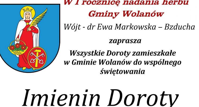 Informacje  z Wolanowa i okolic, Imieniny Doroty Wolanowie - zdjęcie, fotografia