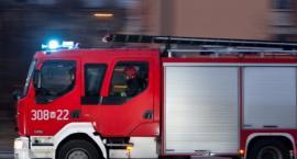 Pożar w zakładzie w Strzałkowie