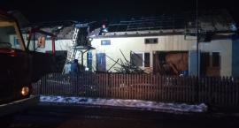 Nocny pożar w Kacprowicach