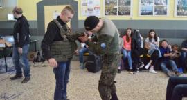 Żołnierze Wojska Polskiego z wizytą w PSP w Wolanowie