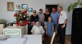100. urodziny mieszkanki Mniszka
