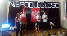 Obchody 100 - lecia niepodległości w PSP w Sławnie