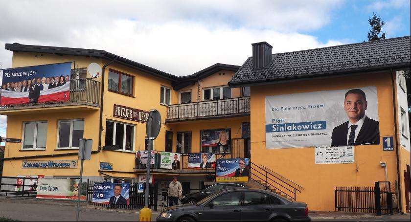 Wybory samorządowe 2018, Wybory debacie Siemiatyczach - zdjęcie, fotografia