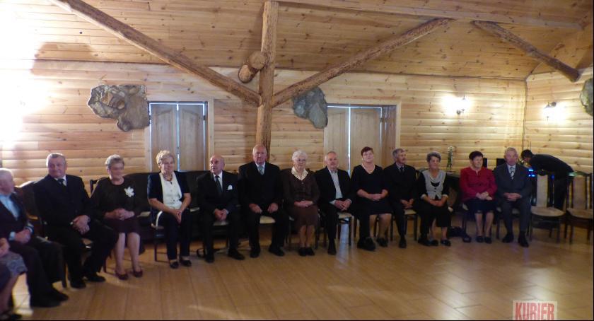 Uroczystości - obchody, Złote gminie Siemiatycze - zdjęcie, fotografia
