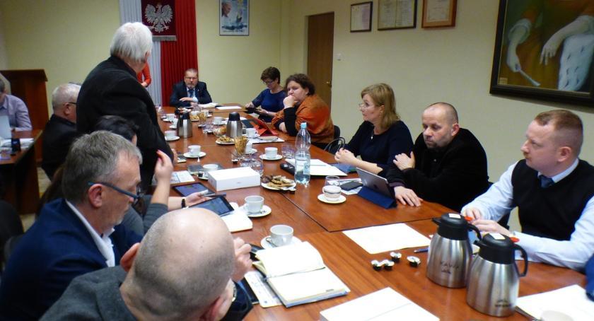Rada miasta, Nadzwyczajna sesja Siemiatyczach - zdjęcie, fotografia